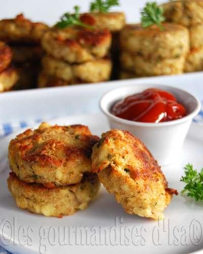 Croquettes de poulet et cheddar - Comment cuisiner un reste de poulet ...